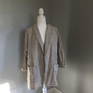 NWT Eileen Fisher shawl collar Jacket